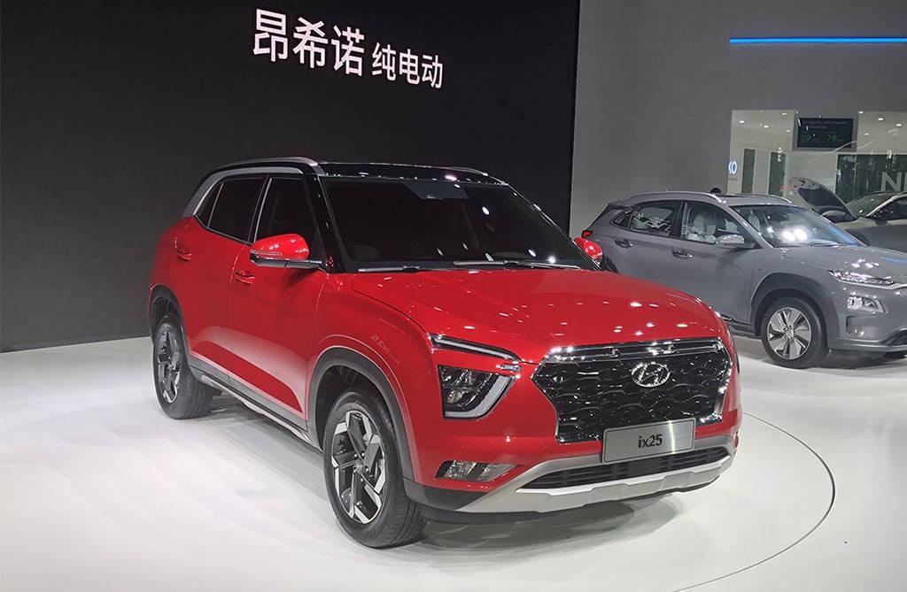 Hyundai ix25 2019-2020 - компактный кроссовер для китая