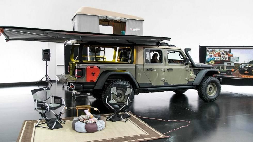 Концепт-кары построенные на базе Jeep Gladiator