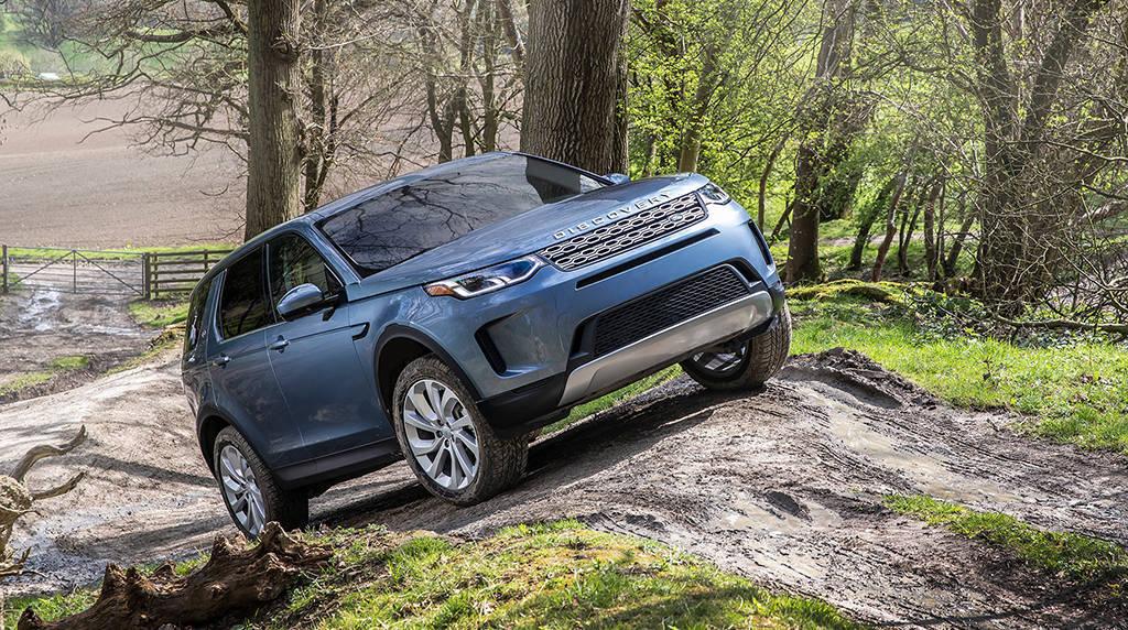 Обновленный внедорожник Land Rover Discovery Sport 2019-2020