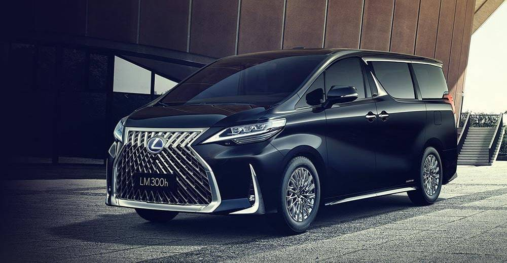 Lexus LM 2019-2020 - роскошный минивэн от Лексус
