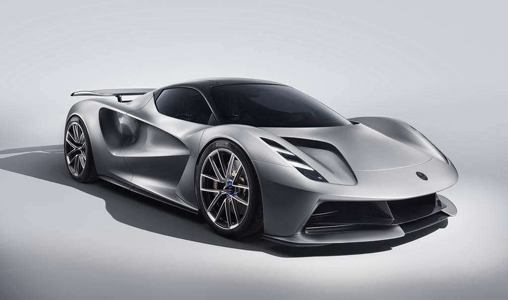 Электрический спорткар Lotus Evija 2019-2020