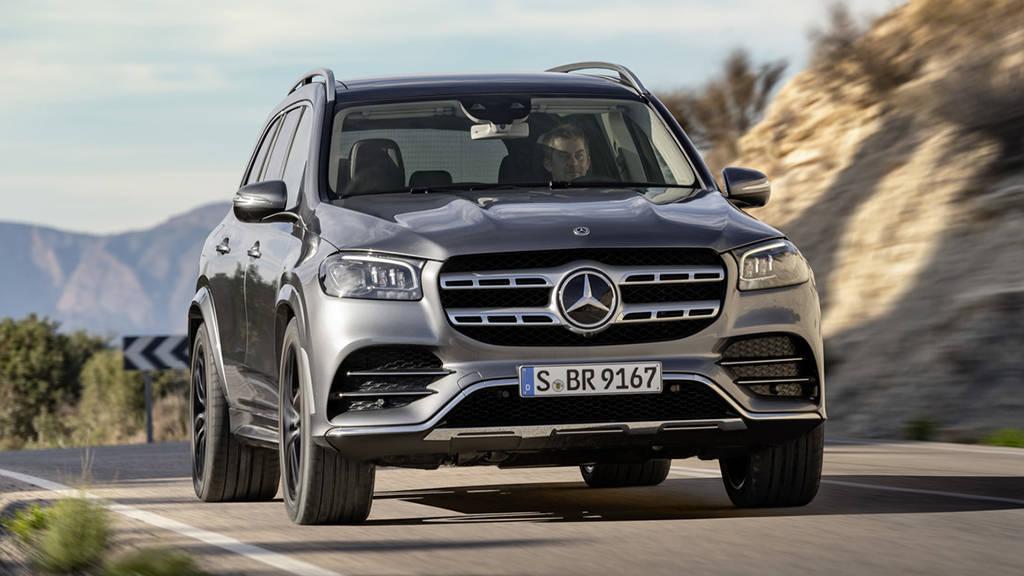 Mercedes-Benz GLS 2019-2020 - полноразмерный 7-местный внедорожник