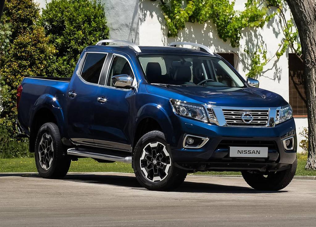 Обновленный пикап Nissan Navara 2019-2020