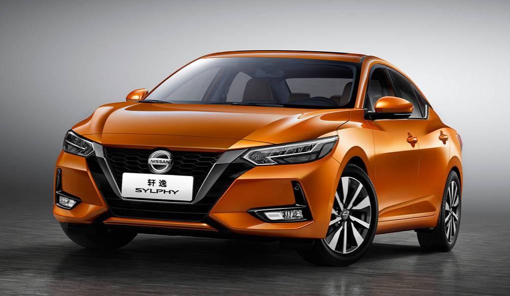 Седан Nissan Sylphy 2019-2020 нового поколения