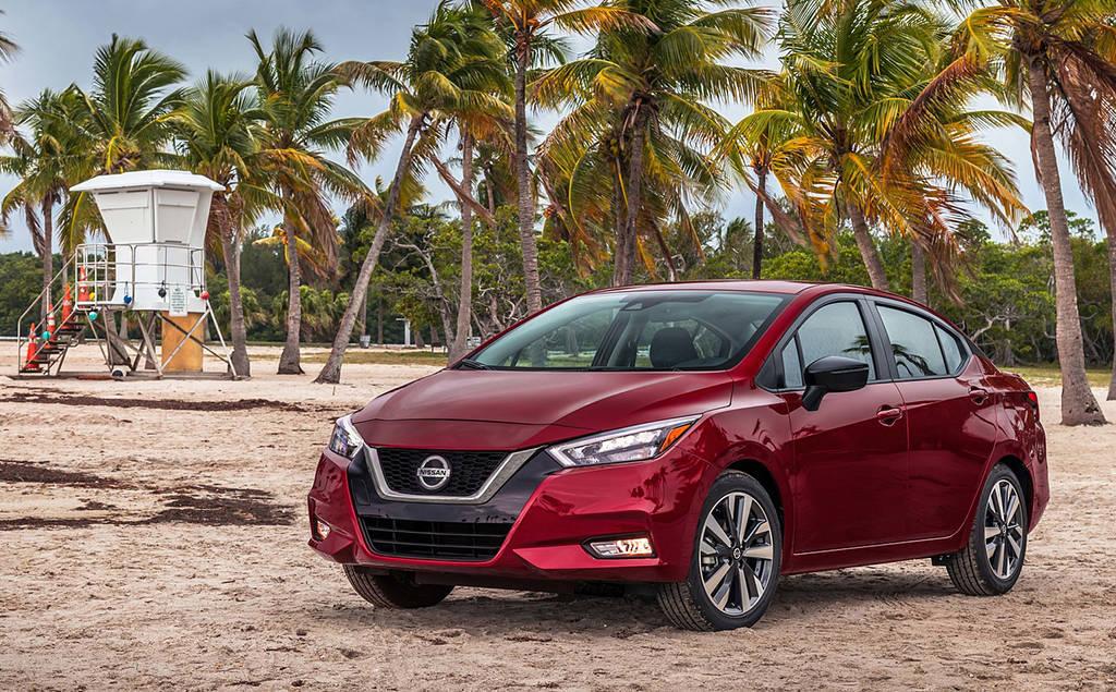 Nissan Versa 2019-2020 - бюджетный седан 3 поколения