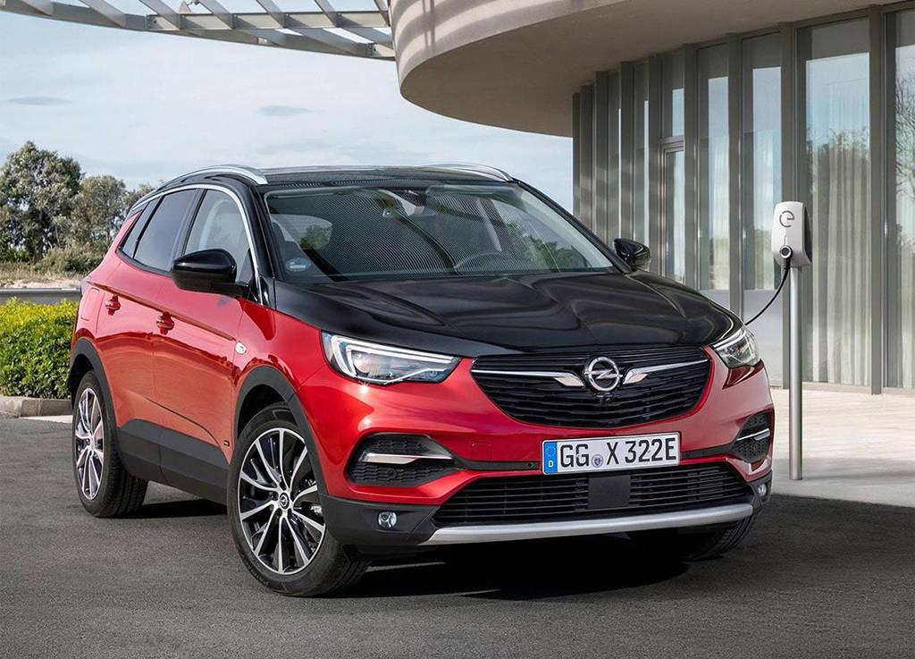 Opel Grandland X Hybrid4 2019-2020 - подзаряжаемый гибрид