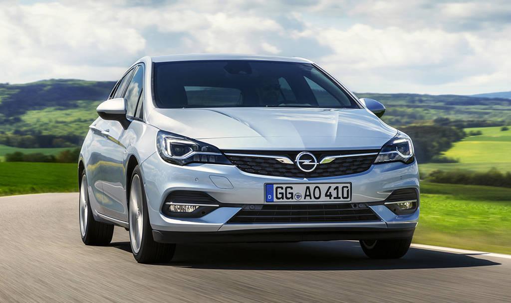 Обновленный хэтчбек Opel Astra 2019-2020
