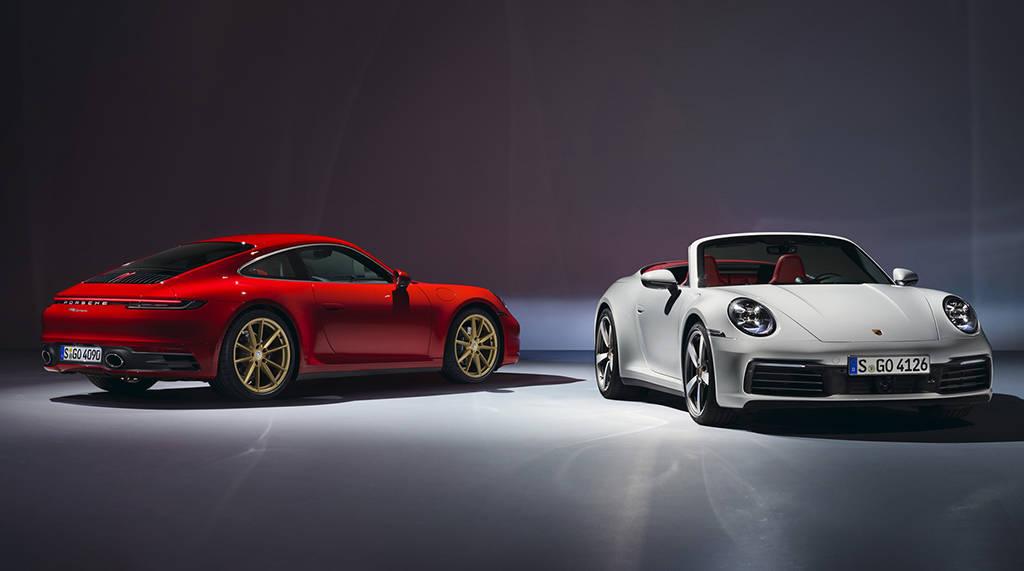 Новые купе и кабриолет Porsche 911 Carrera 2019-2020