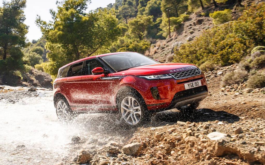 Внедорожник Range Rover Evoque 2019
