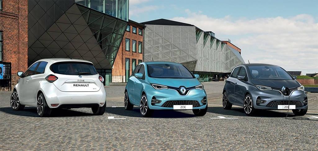 электрический хэтчбек Renault ZOE 2019-2020