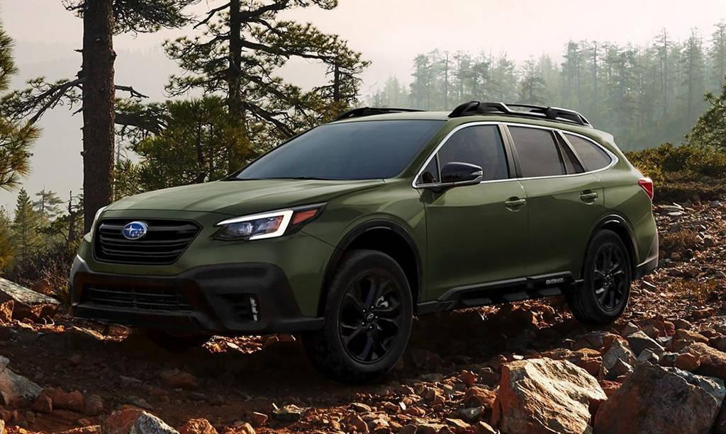 Subaru Outback 2020-2021 внедорожный универсал нового поколения