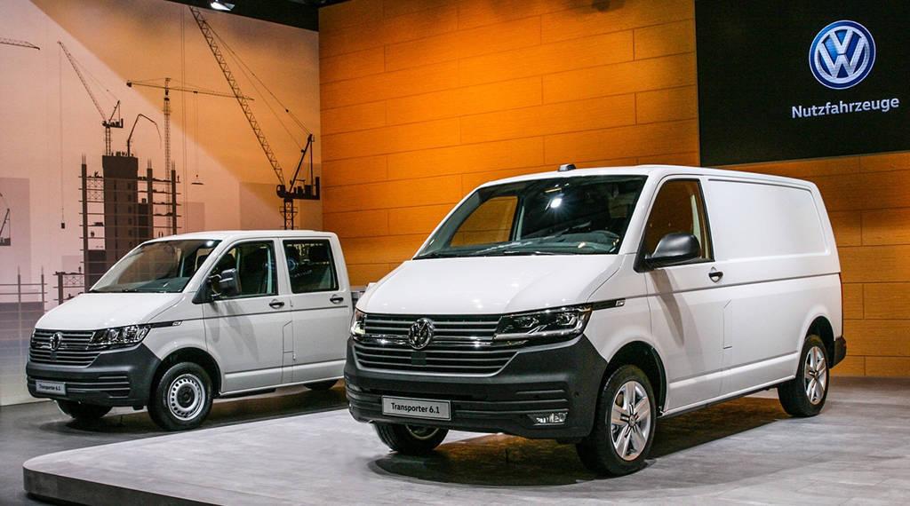 Грузовой Volkswagen Transporter T6.1 2019-2020 года