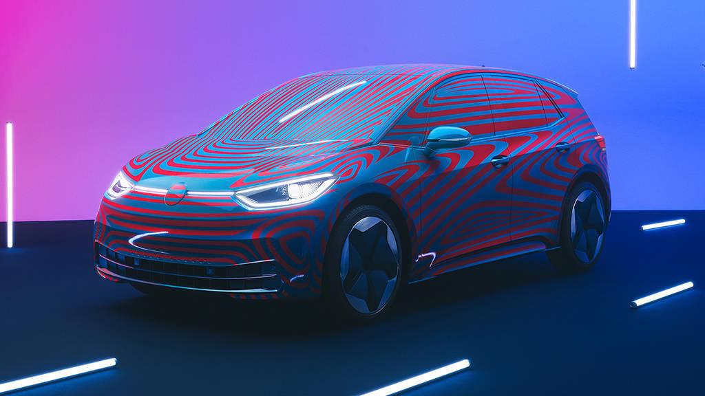 электрический хэтчбек Volkswagen ID.3 2019-2020