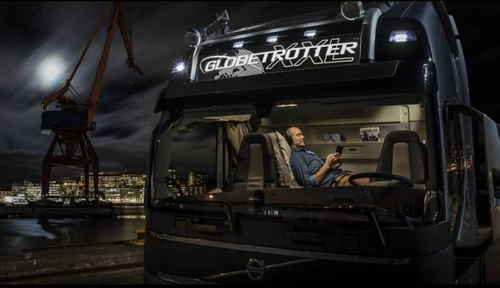 Volvo FH16 XXL с увеличенной на 600 литров кабиной Globetrotter FH16