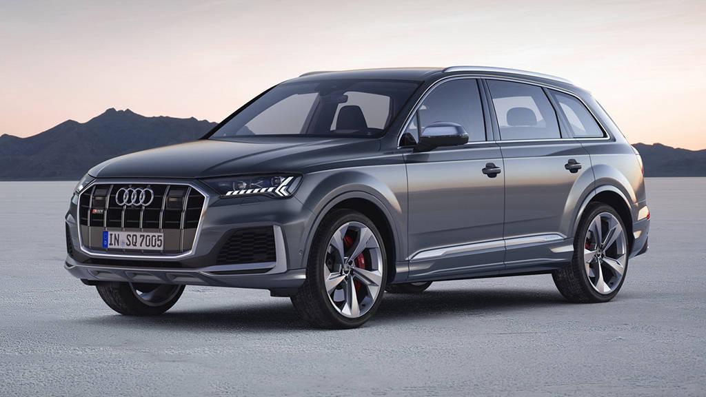 Дизельная топ-версия кроссовера Audi SQ7 2019-2020