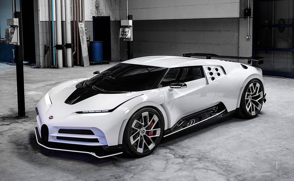 Новый гипер-кар Bugatti Centodieci 2020 ограниченным тиражом