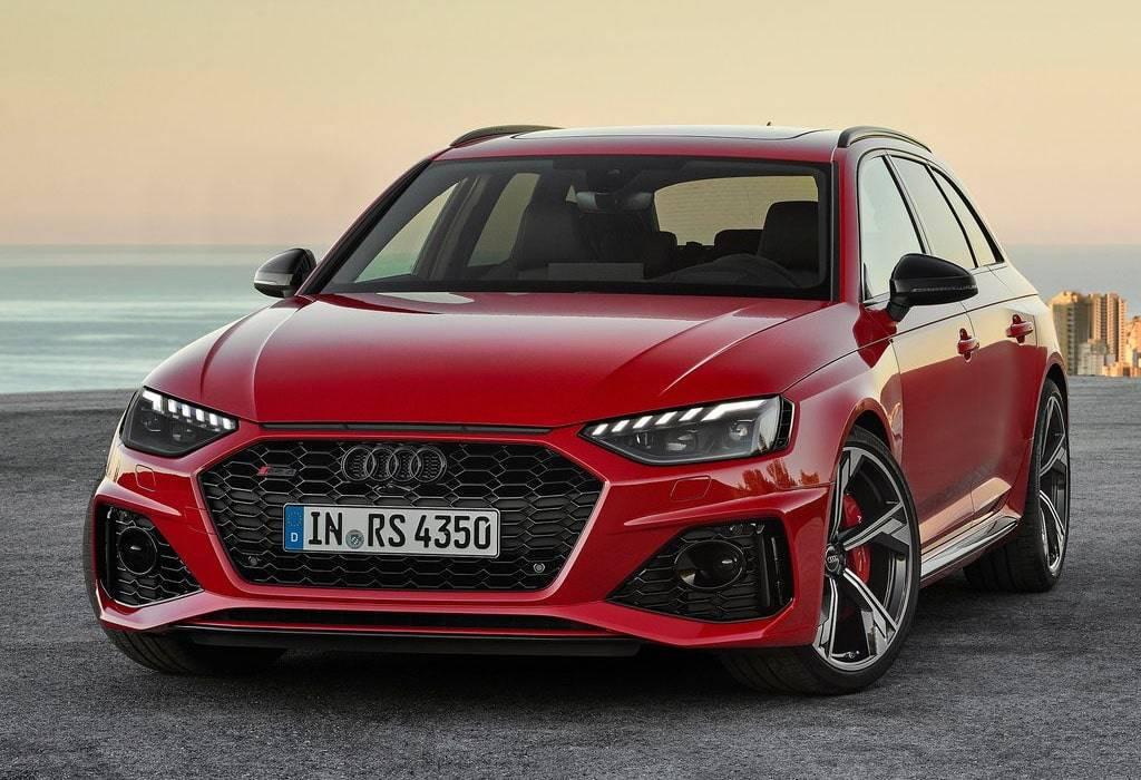 Обновленный универсал Audi RS 4 Avant 2019-2020