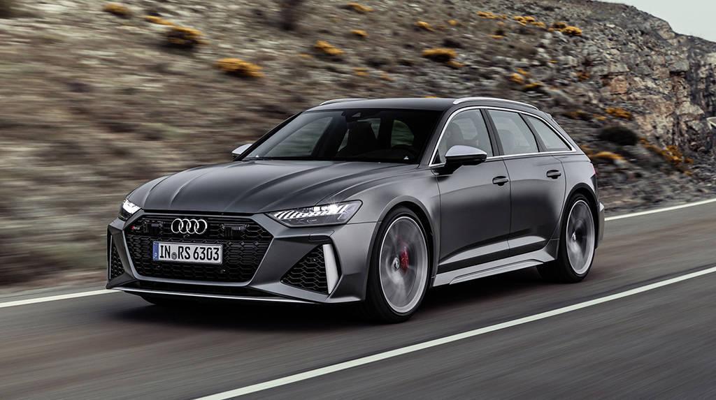 Заряженный универсал Audi RS6 Avant 2019-2020