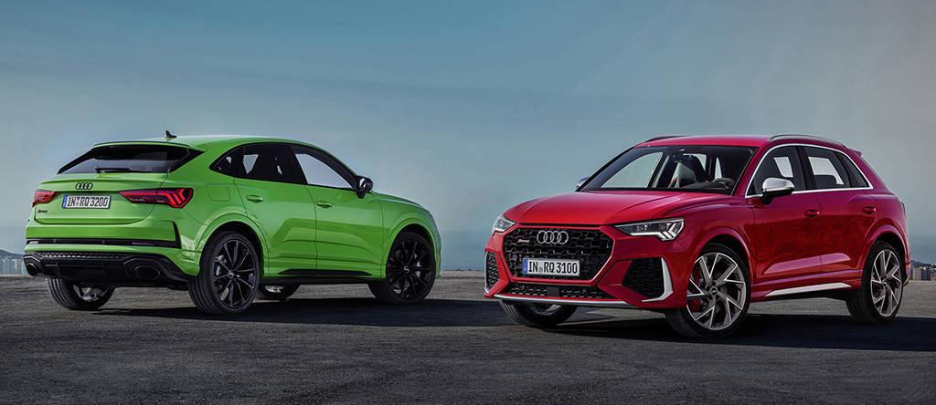 Заряженные кроссоверы Audi RS Q3 и RS Q3 Sportback 2020