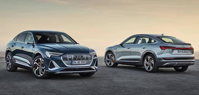 Электрический Audi e-tron Sportback 2020
