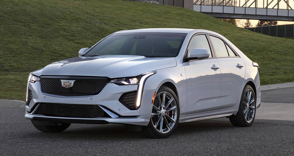Новый седан Cadillac CT4 2020