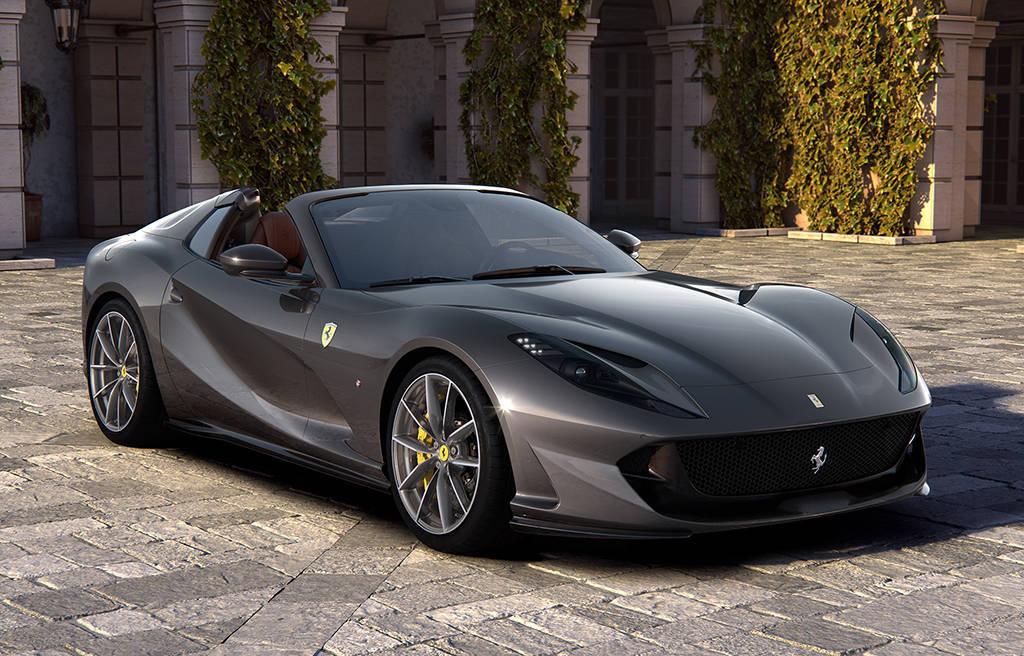Родстер Ferrari 812 GTS 2019-2020
