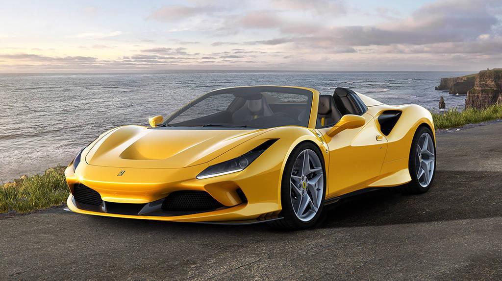 Новый среднемоторный суперкар Ferrari F8 Spider 2019-2020