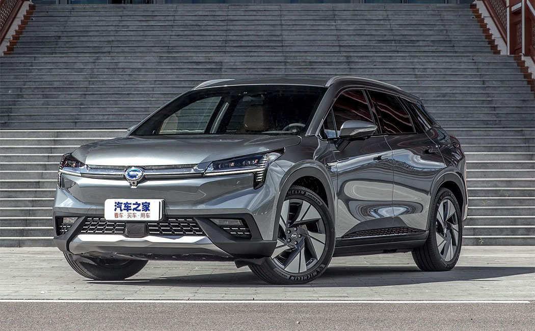 GAC Aion LX 2019 - китайский электрический кроссовер