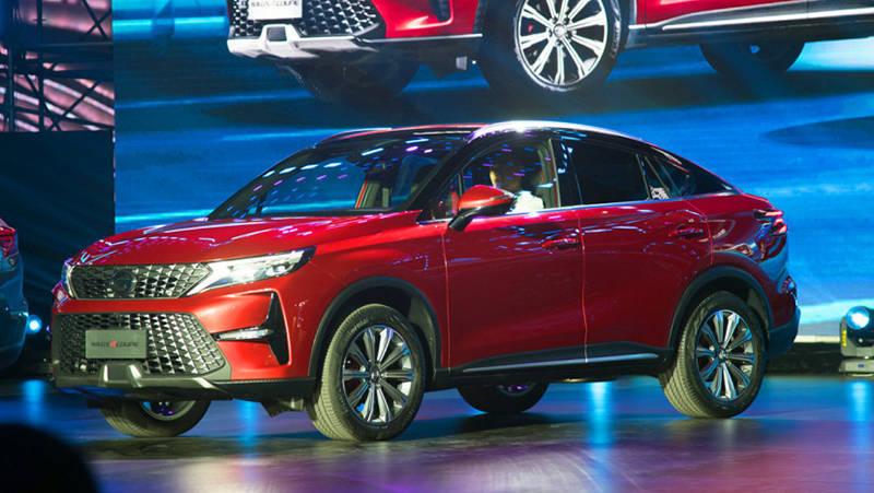 Китайский купе-кроссовер GAC GS4 Coupe 2020