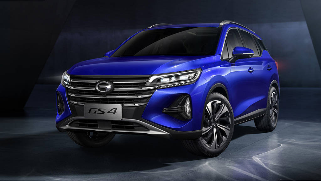 Китайский кроссовер GAC GS4 2020 второго поколения