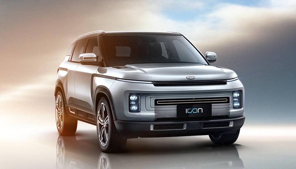 Китайский паркетник Geely Icon 2020