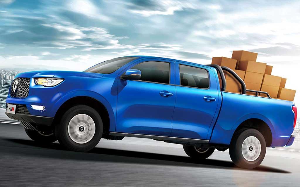 Утилитарный грузовичок Great Wall Pao 2020