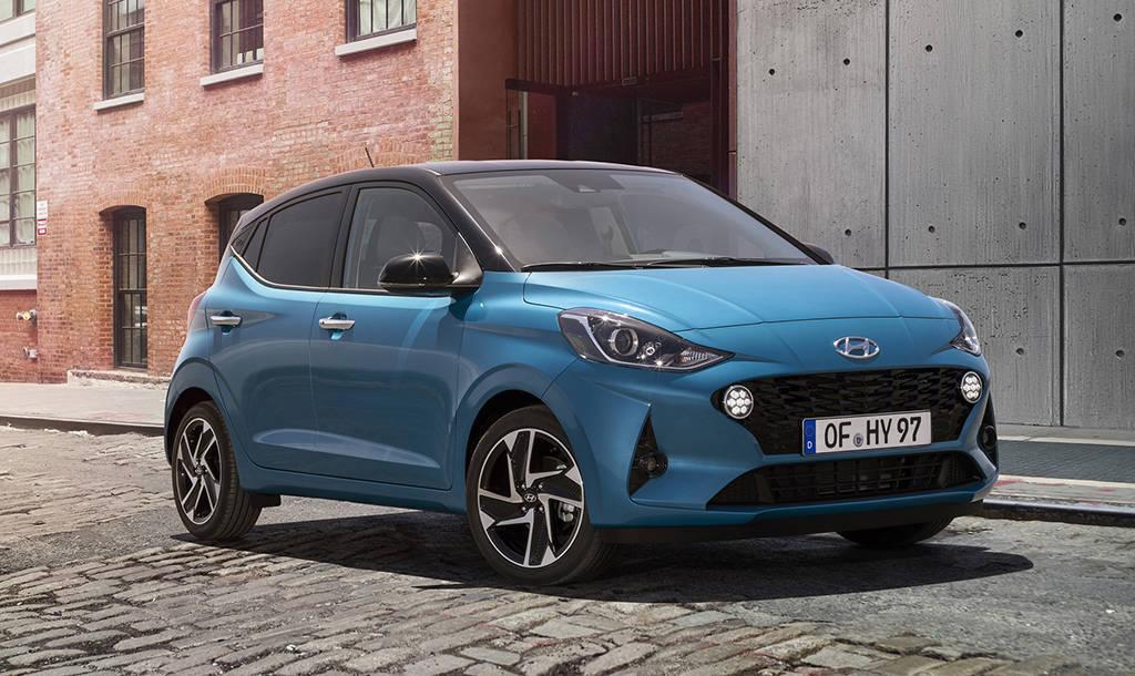 Бюджетный хэтчбек Hyundai i10 2019-2020