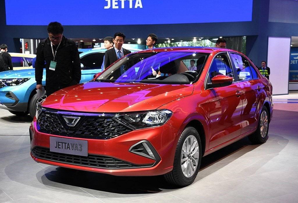 Бюджетный седан Jetta VA3 2020 для Китая
