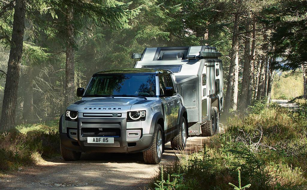 Внедорожник Land Rover Defender 2020 второго поколения