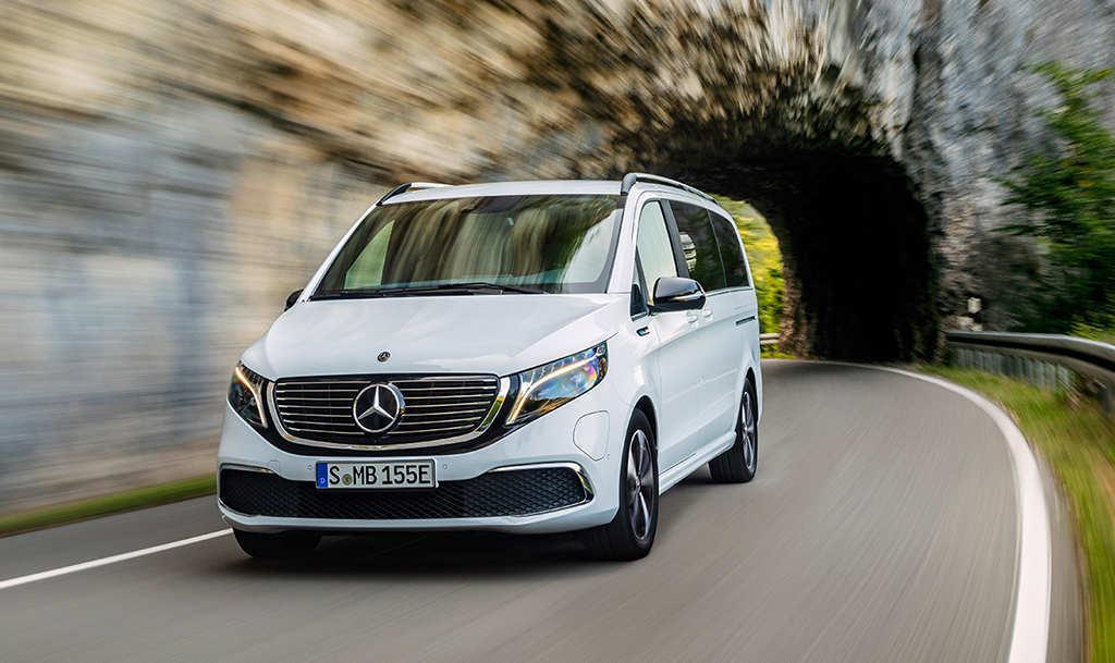 Электрический минивэн Mercedes EQV 2020-2021
