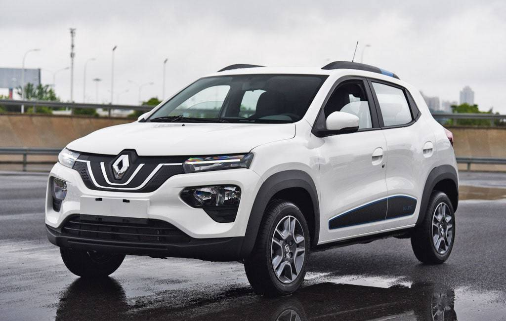 бюджетный электромобиль Renault City K-ZE