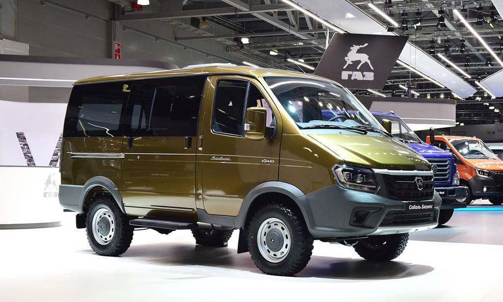 Концепт микроавтобуса Соболь Бизнес 4WD