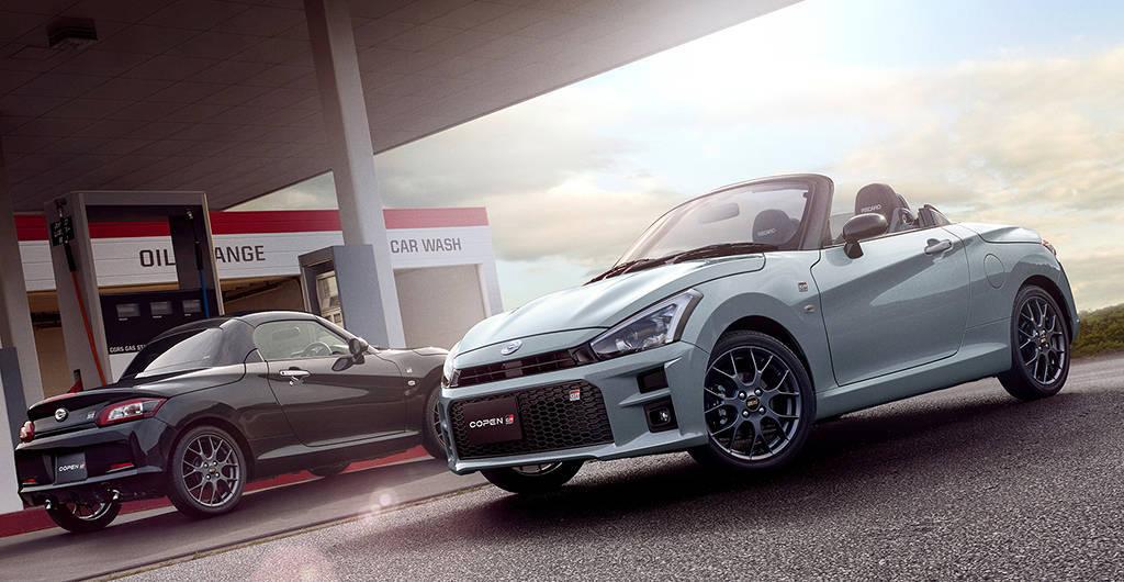 Спорт-версия родстера Daihatsu Copen GR Sport 2020