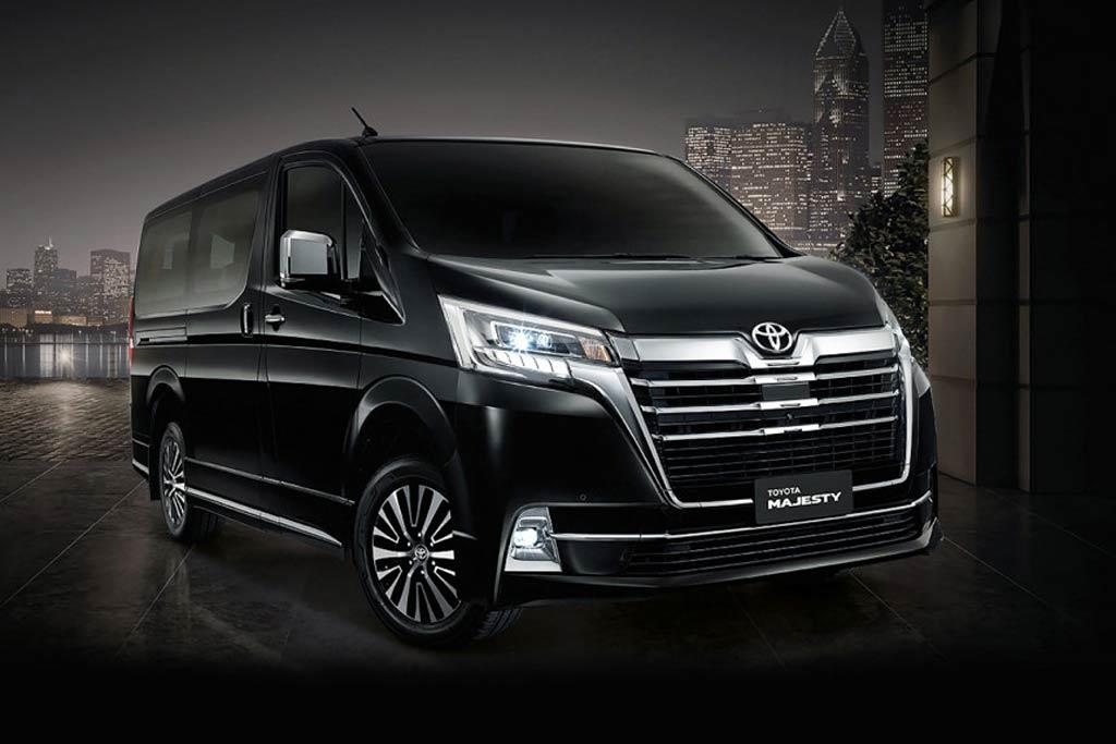 Шикарный минивэн Toyota Majesty 2019-2020