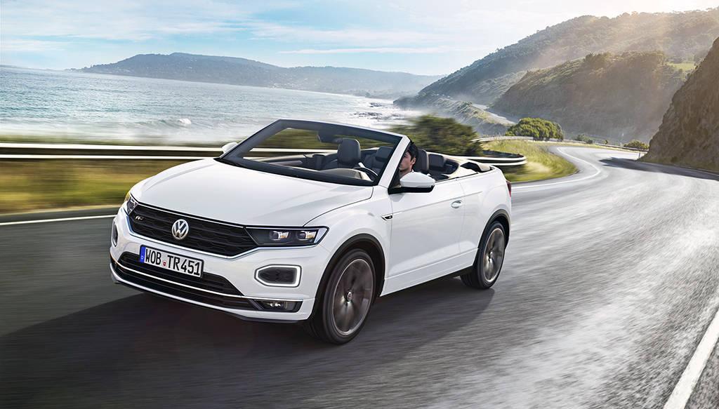 Новый кабриолет Volkswagen T-Roc Cabriolet 2019-2020