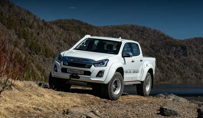 Пикап Trucks Isuzu D-Max AT35