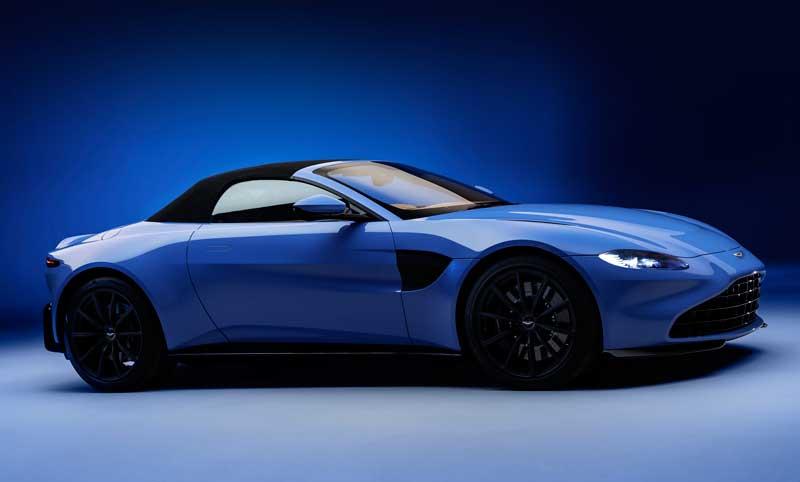Родстер Aston Martin Vantage 2020 с мягкой складной крышей