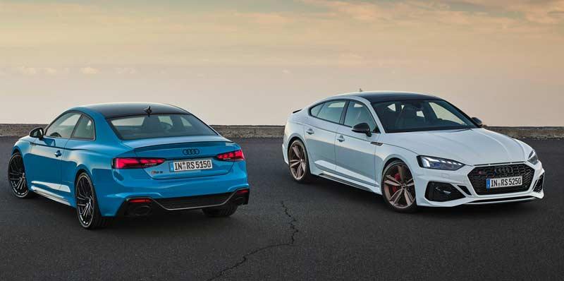 Обновленные Audi RS 5 Coupe и RS 5 Sportback 2020