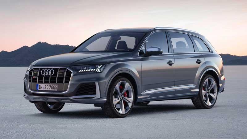 Топ-версия дизельного кроссовера Audi SQ7 TDI для России