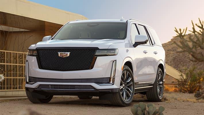 Внедорожник Cadillac Escalade 2020-2021 пятого поколения
