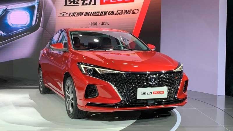 Бюджетный седан Changan Eado Plus 2020