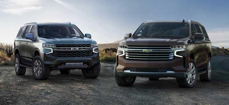 Большие рамные внедорожники Chevrolet Tahoe и Suburban 2020-2021