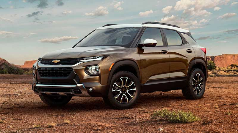 Кроссовер Chevrolet Trailblazer 2020
