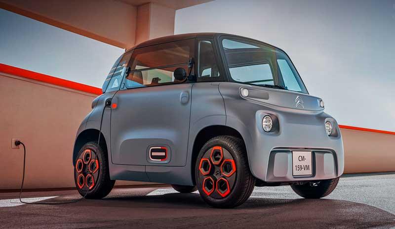 Компактный электромобиль Citroen Ami 2020